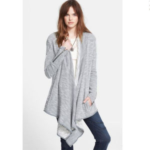 Free People 'In The Loop' Open Front Cardigan (S)